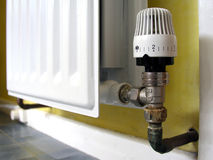 Radiator valve Royalty Free Stock Photography