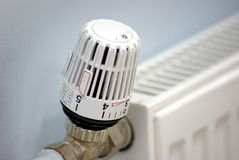 Radiator valve royalty free stock image