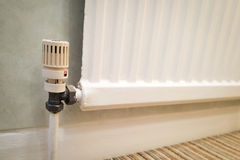 Radiator Valve Royalty Free Stock Photos