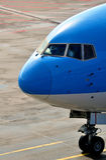 Radiatore anteriore dell'aeroplano del passeggero fotografia stock libera da diritti