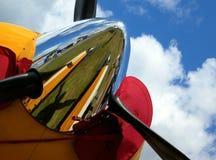 Radiatore anteriore dell'elica Fotografie Stock Libere da Diritti