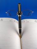 Radiatore anteriore della penna Fotografia Stock Libera da Diritti