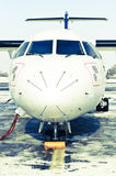 Radiatore anteriore di ATR 42 Fotografia Stock