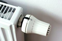 Radiatore bianco del radiatore dettagliatamente Immagini Stock