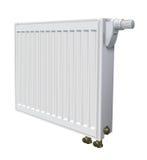 Radiatore di Metall per il riscaldamento di comitato della casa Fotografia Stock Libera da Diritti