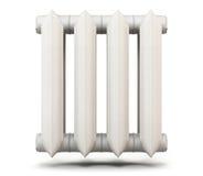 Radiatore isolato su fondo bianco rappresentazione 3d Fotografie Stock Libere da Diritti