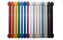 Radiatore multicolore fotografia stock libera da diritti
