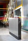 Radiatori di alluminio Fotografie Stock Libere da Diritti
