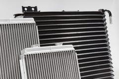 Radiatori di raffreddamento automobilistici Immagini Stock