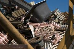 Radiators pile Stock Image