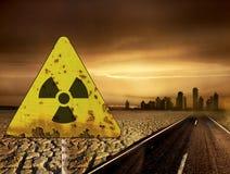Radiazione immagine stock