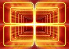 Radiazione elettromagnetica Fotografia Stock
