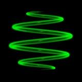 Radiazione nello scuro Immagine Stock