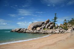 Radical Bay Magnetic island, Australia. Radical Bay, Magnetic island coastline , Queensland, Australia stock images