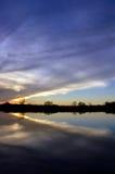Radical Cloud Reflection Stock Image