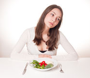 Radical diet. Royalty Free Stock Photography