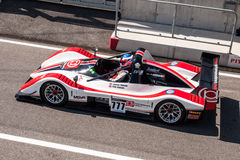 Radical race car. Photographed during Supercar Challenge event at Slovakia Ring on May 18 2013 stock image