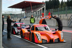 Radical RXC Coupe racing car Stock Images