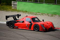 Radical RXC V8 car test at Monza Royalty Free Stock Photos