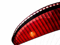 Radical sports. Fly glider landscape old paraquedas pumping radical sport sports style tour royalty free stock photos