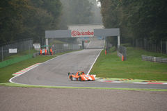 Radical SR8 car racing at Monza Royalty Free Stock Image