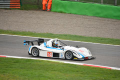 Radical SR3 RSX car racing at Monza Royalty Free Stock Images