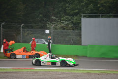 Radical SR3 RSX car racing at Monza Royalty Free Stock Photography