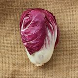Radicchio. Is on bag background Stock Images
