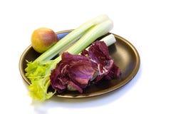 Radicchio, Celery & Apple Stock Photography