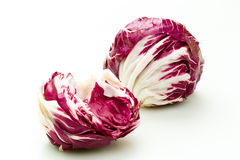Radicchio. Fresh Radicchio on a white underground Stock Images