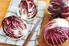 Radicchio. Red chicory (Radicchio), typical North Italy (Veneto region) vegetable Stock Photo