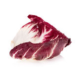 Radicchio, red salad isolated on white Royalty Free Stock Photo