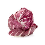 Radicchio, red salad isolated on white Royalty Free Stock Photography