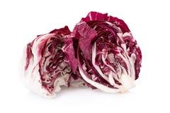 Radicchio, red salad isolated on white.  Stock Photography