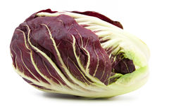Radicchio red salad isolated Royalty Free Stock Photos