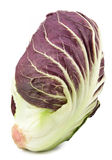 Radicchio red salad isolated Royalty Free Stock Image