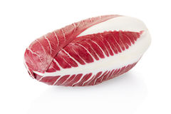 Radicchio, red salad. On white, clipping path included Stock Photography