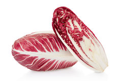 Radicchio and section, red salad Stock Photo