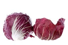 Radicchio Vegetable Royalty Free Stock Photo