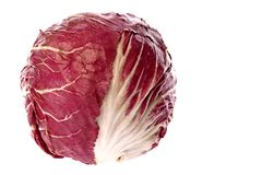 Radicchio Vegetable Royalty Free Stock Photos