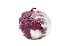 Radicchio vegetable. Isolated on white Stock Images