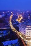 Radiceva Street in Zagreb Royalty Free Stock Photos