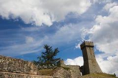 Radicofani castle Stock Photography