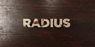 Radie - grungy trärubrik på lönn - 3D framförd fri materielbild för royalty royaltyfri illustrationer