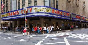 Radie teatro de variedades la ciudad Foto de archivo libre de regalías