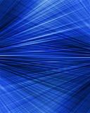Radiell abstrakt begreppblåttbakgrund Arkivbilder