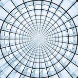 Radiell abstrakt cirkelmodell Royaltyfria Bilder
