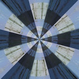 Radiell abstrakt modell Arkivfoton