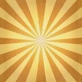 Radiell bakgrund - Sunburststil Royaltyfria Bilder