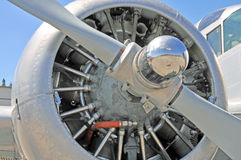 Radiell motor Royaltyfri Fotografi